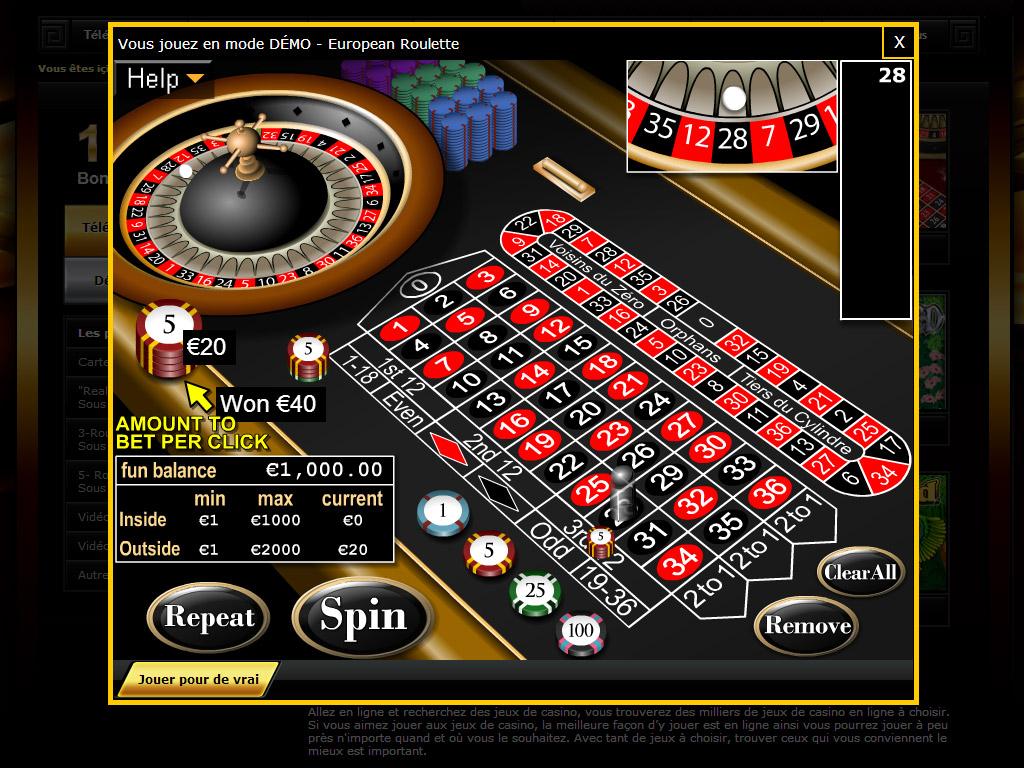 Играть онлайн бесплатно в казино рулетка